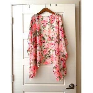 Floral Roses Kimono | Pinkblush